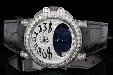 Harry Winston Lady Z 2.50ctw Diamond Watch #162/300