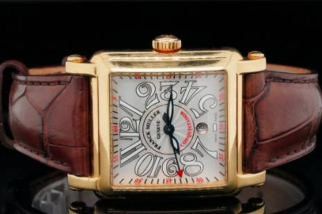 Franck Muller Cortez Conquistador 32mm 18K Watch