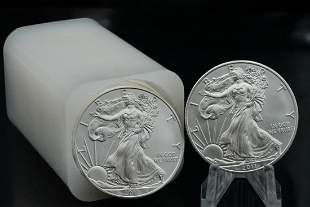 Tube of (20) 2011 American Silver Eagle 1 Oz. Coins