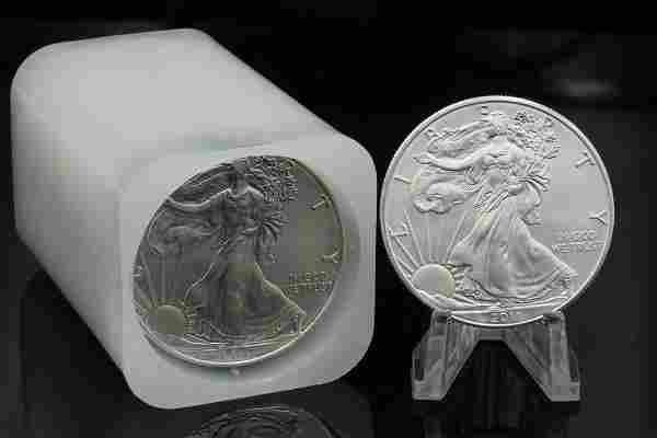 (20) 2010-2011 American Silver Eagle 1 Oz. Coins
