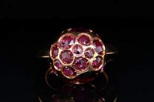 Pomellato Harem 6.00ctw Rhodolite Garnet 18K Ring