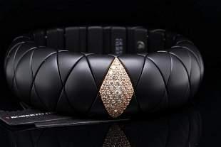 Roberto Demeglio Diamond, 18K & Ceramic Bracelet