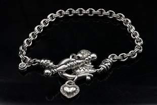 Scott Kay 0.35ctw Diamond Sterling Silver Bracelet