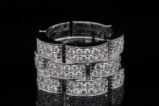 Cartier Maillon de Cartier 4.00ctw Diamond 18K Ring