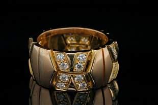 Cartier 1.00ctw VVS2-VS1/F-G Diamond and 18K Ring