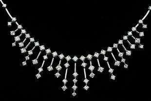 Salvini 3.10ctw VS1-VS2/G-H Diamond and 18K Necklace