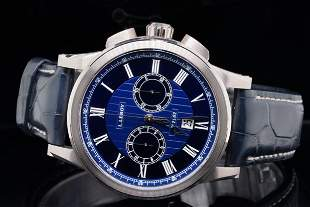 L. Leroy Marine Chronographe 43mm 18K Watch