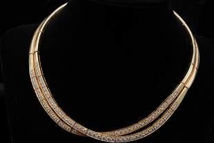 Van Cleef & Arpels 6.00ctw Diamond 18K Necklace