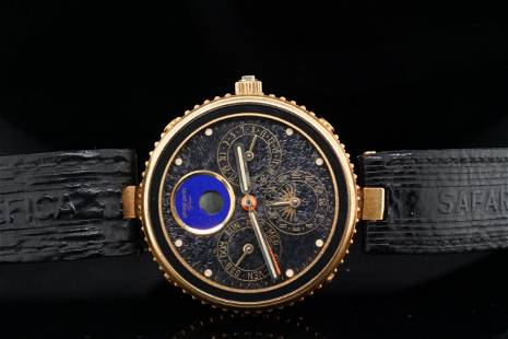 Gerald Genta Gefica Safari 33mm Bronze Watch