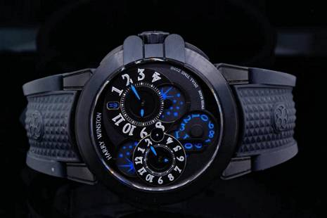 Harry Winston Ocean Dual Time 44mm Automatic Watch