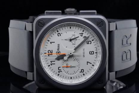 Bell & Ross Rafale 42mm Ceramic Automatic Watch