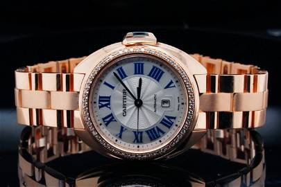 Cartier Cle de Cartier 32mm Diamond and 18K Watch