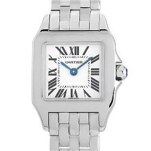 Cartier Santos Demoiselle 20mm Stainless Steel Watch