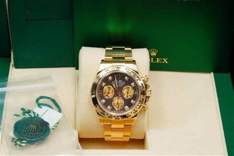 Rolex 2020 Cosmograph Daytona 18K Watch Black MOP