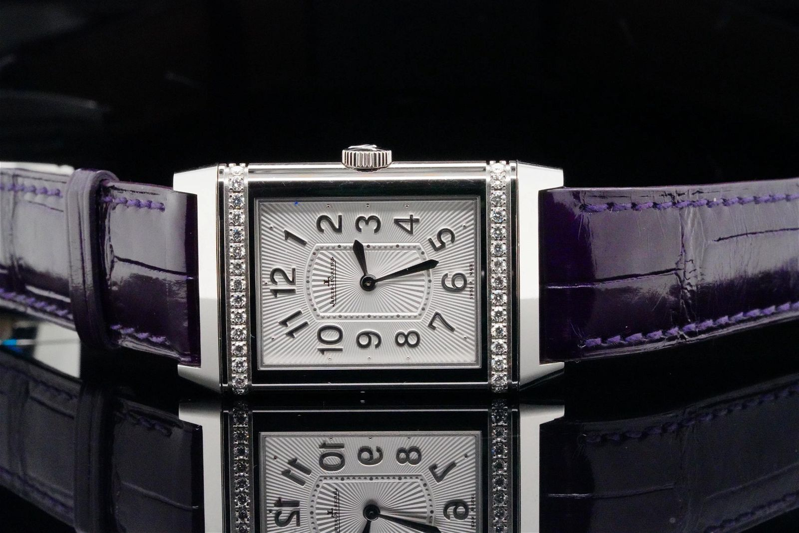 Jaeger LeCoultre Reverso Ultra Thin Diamond Watch