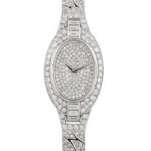 Vacheron Constantin 5.00ctw Diamond and 18K Watch