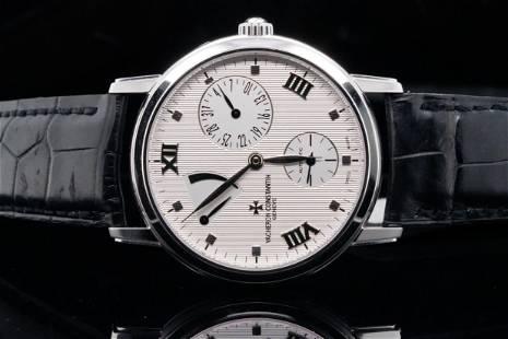 Vacheron Constantin Patrimony Power Reserve 18K Watch