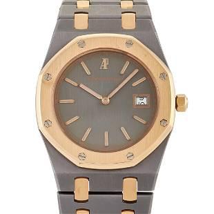 Audemars Piguet Royal Oak Tantalum and 18K Watch