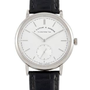 A. Lange & Sohne Saxonia 39mm 18K Automatic Watch