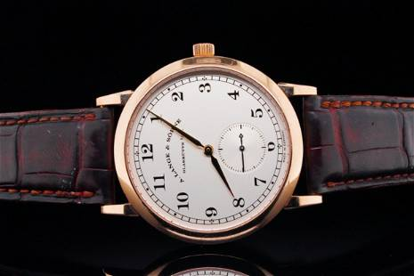 A. Lange & Sohne 1815 36mm 18K Rose Gold Watch