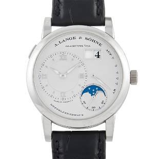 A. Lange & Sohne Lange 1 Moon Phase 39mm Watch