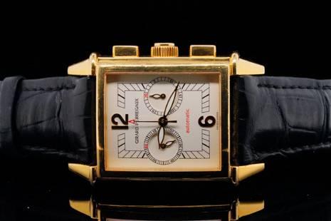"Girard Perregaux ""Vintage 1945"" 18K 30mm Watch"