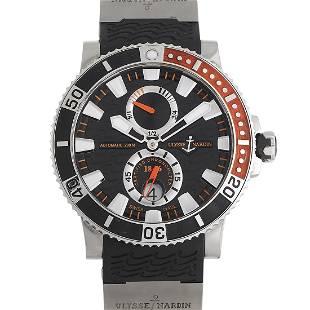 Ulysee Nardin Maxi Marine Diver 45mm Titanium Watch