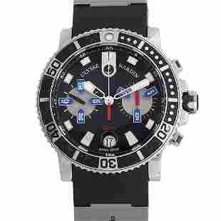 Ulysee Nardin Maxi Marine Diver Chronograph Watch