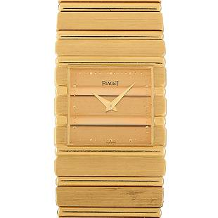 Piaget Polo Collection 25mm 18K Yellow Gold Watch