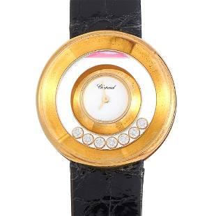 Chopard Happy Diamonds 0.39ctw Diamond and 18K Watch