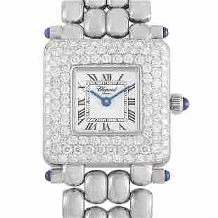 Chopard Classic Diamond 28mm 18K White Gold Watch