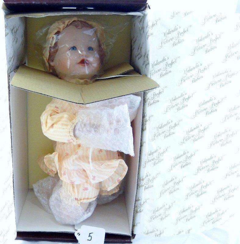 "5: Yolanda Bello Hand Painted ""Emily"" Porcelain Doll"