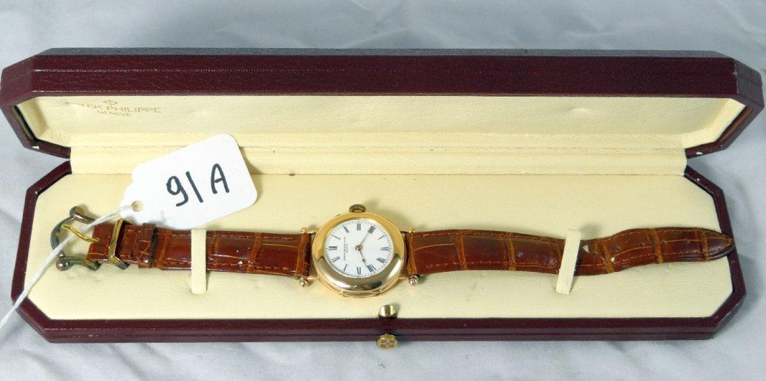 91A: Men's 18K Patek Philippe*Authentic/Antique*