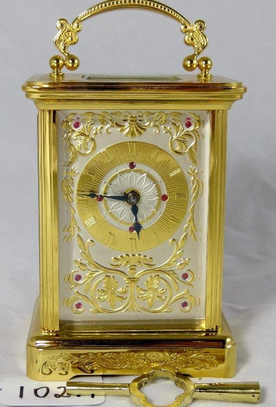 102A: Igor Carl FABERGE Carriage Clock