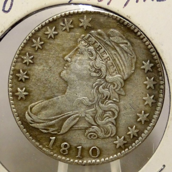 2: 1810  Capped Bust Half Dollar