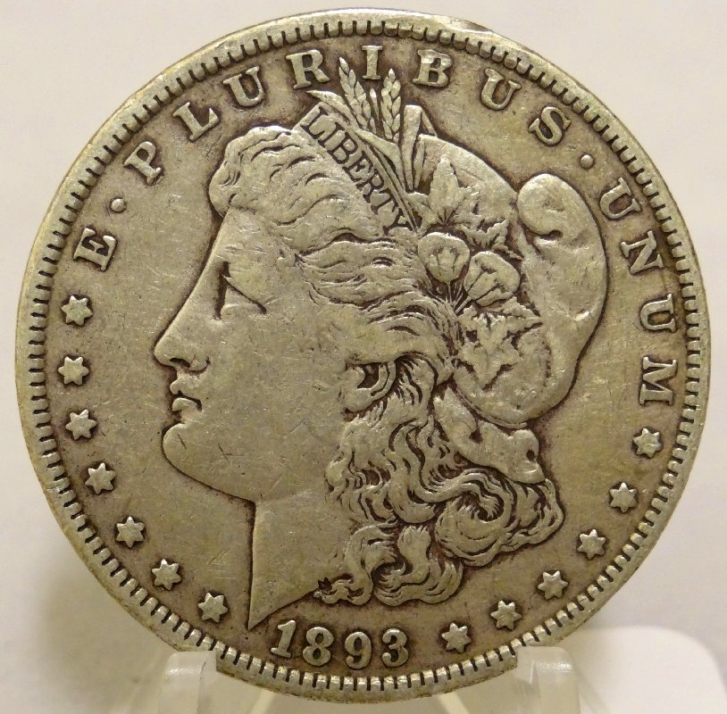 6: 1893-P Morgan Silver Dollar *Key Date*