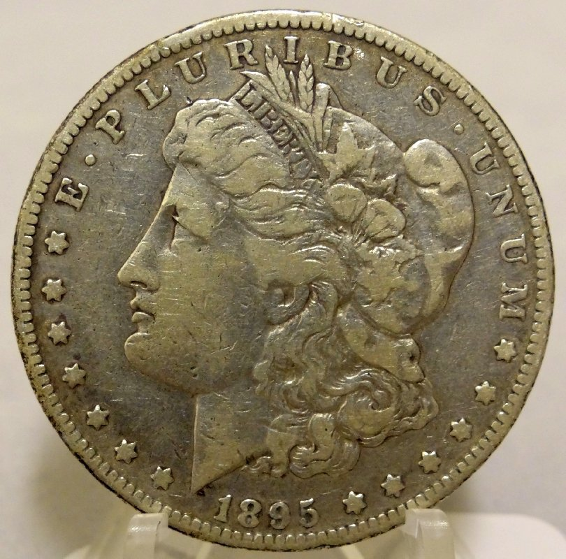 7: 1895-O Morgan Silver Dollar *Key Date*