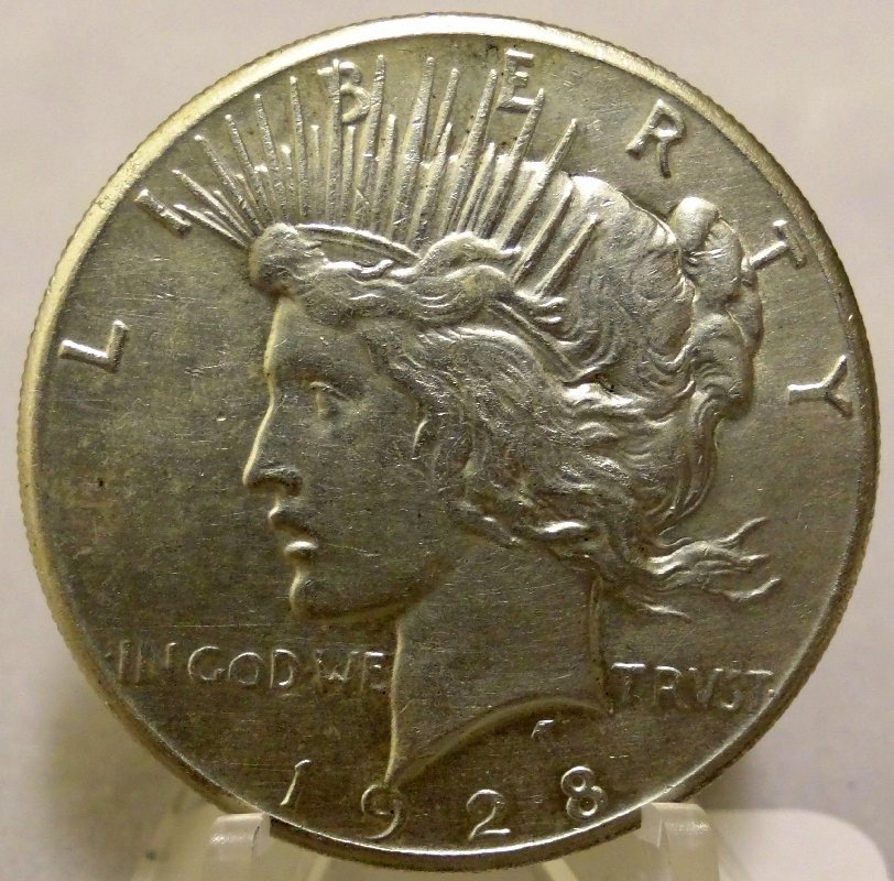11: 1928-P Peace Dollar *Key Date*