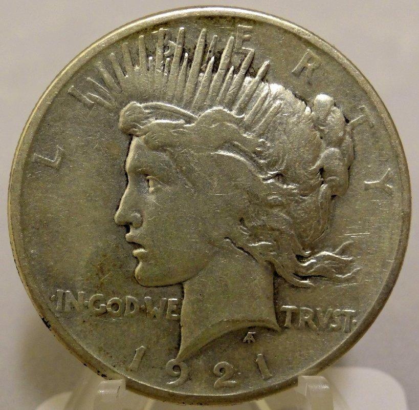 12: 1921-P Peace Dollar *Key Date*