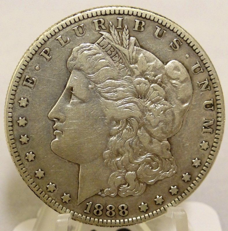 13: 1888-S Morgan Silver Dollar *Key Date*
