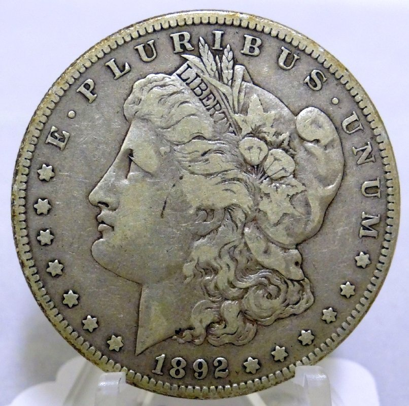 16: 1892-S Morgan Silver Dollar *RARE Key*