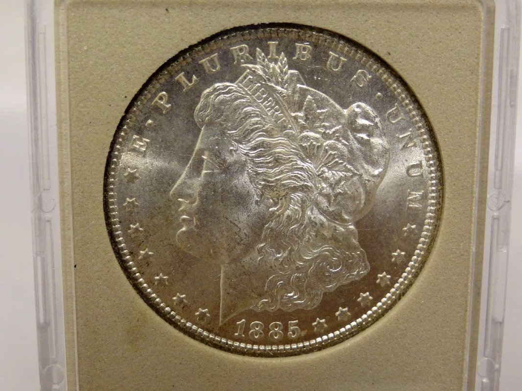18: 1885-CC Morgan Silver Dollar *KEY DATE*