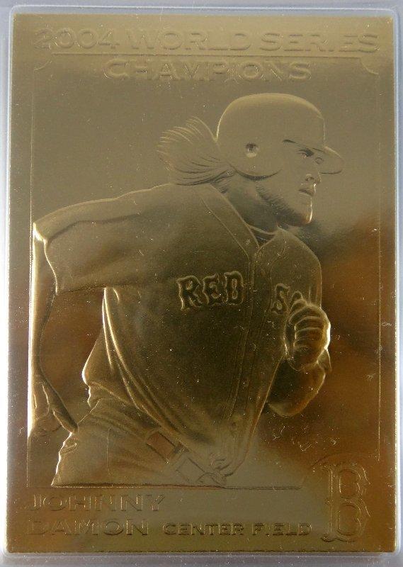 37: Danbury Mint 22kt Gold Baseball Cards - 2