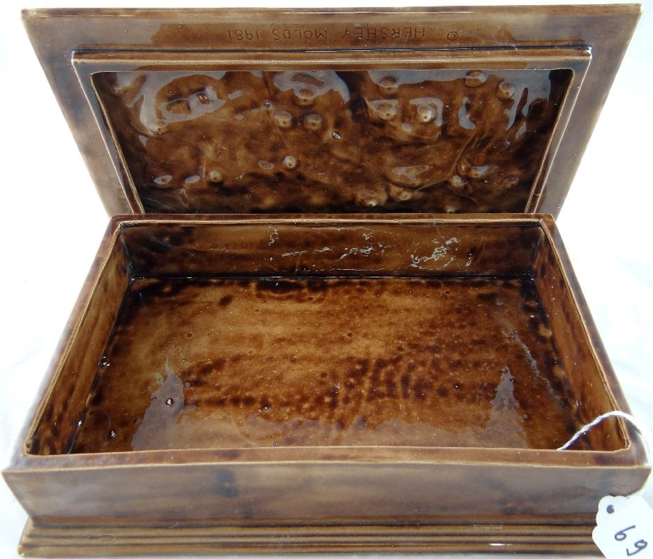 69: Vintage Hershey Molds 1981 Ceramic Box - 2