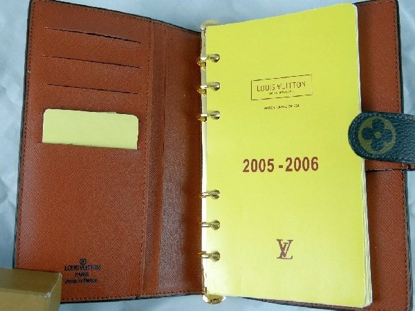 10: Louis Vuitton Agenda Notes Address Book - 2