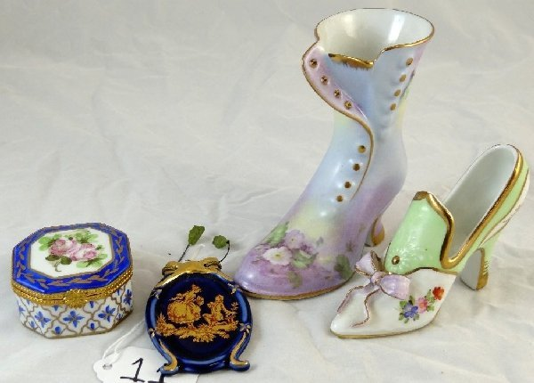 11: Mixed Lot of Vintage Limoges Collectibles