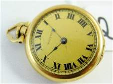 22E Waltham 14K Gold Pocket Watch WDmnds