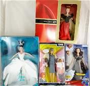 47 4 Mattel Inc Barbies In Original Boxes