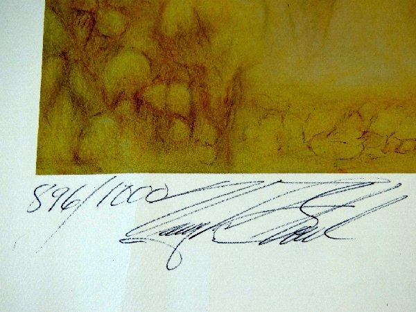 120: Vaughn Stout Stage Coach West Signed Litho. - 3