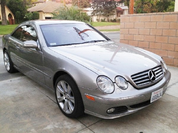 1C: 2004 Mercedes-Benz CL 500,Fully Loaded
